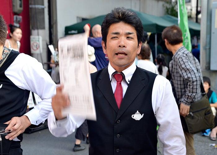 小山健 ナガシーズ 西船橋 100円商店街