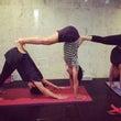yoga class…