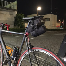 移動手段は自転車だけ…