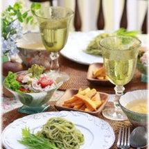 大葉と水菜のジェノベ…
