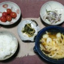 久々、我が家の朝ご飯