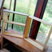 ディスプレイ用木枠。