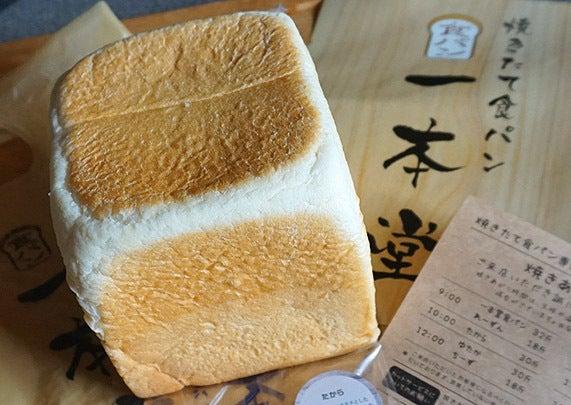 八戸市 焼きたて食パン 一本堂
