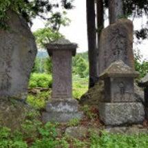 庚申塔と刻まれた石塔…