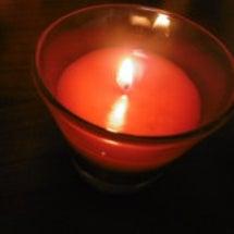 香りの付いてる蠟燭