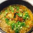 頑固豚足な醤油スープ…