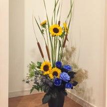 元気と涼をお花から