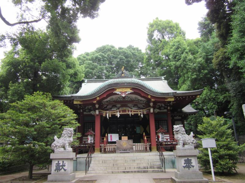 中野坂上氷川神社