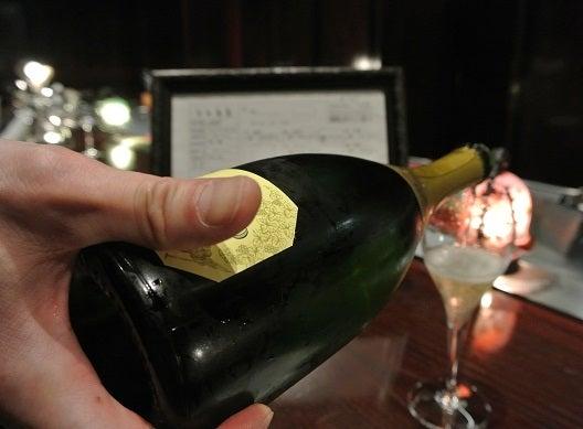 銀座五明 シャンパン