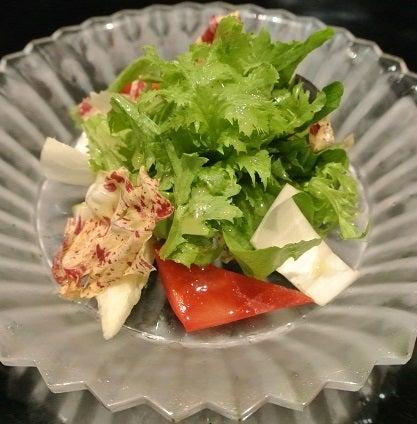 銀座五明 季節野菜サラダ