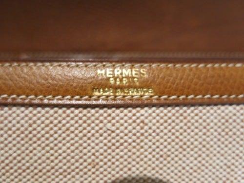 HERMES ヴィンテージ エルメス 1976年製 ソローニュ ショルダーバック