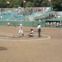 富士球場で野球観戦