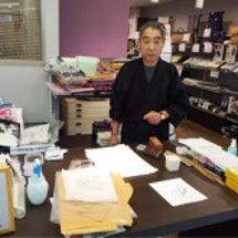 米山先生の友禅体験教…