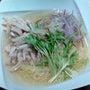 冷製鶏スープ麺@鼎泰…