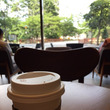 スタバで朝のひとり時…