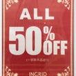 ☆SALE  50%…