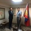 在日本モンゴル国大使…