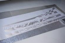 ポルシェ911(991)サイドデカール制作&ハチマキ