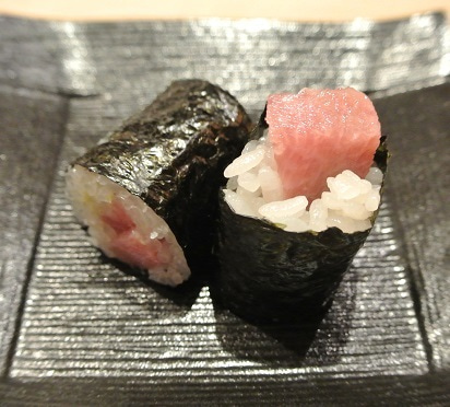 赤坂 藤   やま幸の塩釜マグロ鉄火巻