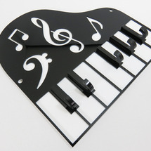 ★ピアノ型アクリルキ…