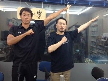 いわきFC 菊池将太&ナシモン at FMいわき