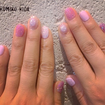 purple キラキ…