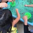 近所の小学校の夏祭り…