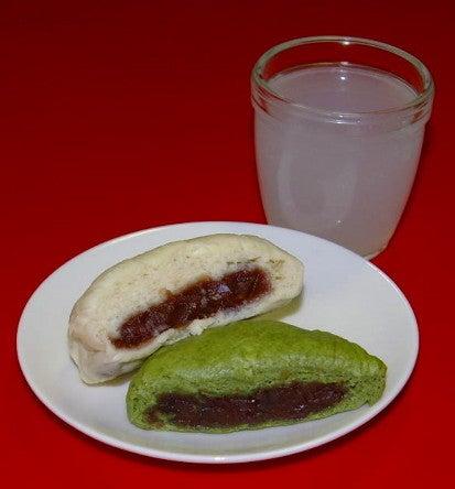酒饅頭・よもぎ饅頭
