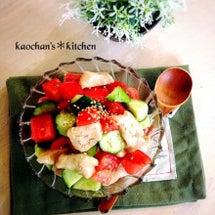 鶏胸肉と野菜のコロコ…