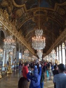 ベルサイユ宮殿 通路 廊下