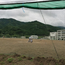 釜石高校へ