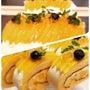 夏のロールケーキ