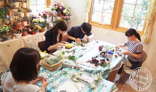結婚式両親贈呈花手作りレッスン東京
