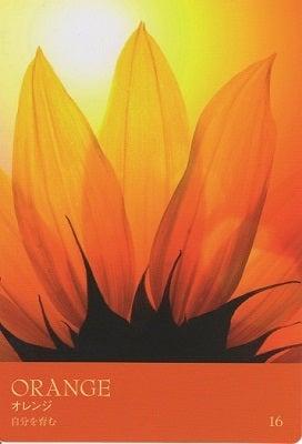 カラーカード:オレンジ