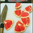 グレープフルーツ剥き…