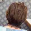 毛先のギザギザなカッ…