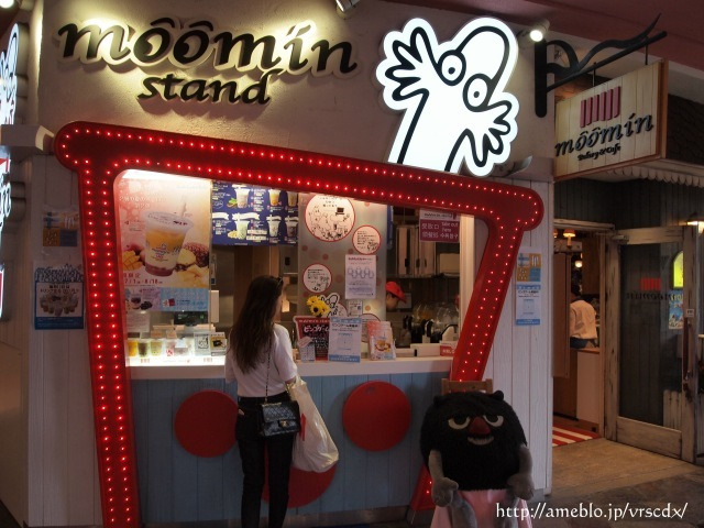 09 moomin stand キャナルシティ