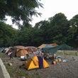 授業参観後キャンプ