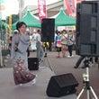 山あげ祭で歌いました…