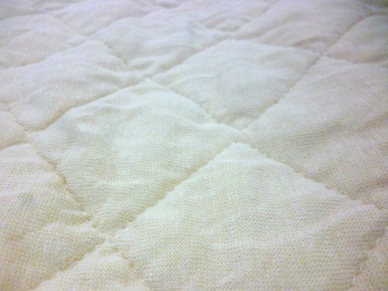 リネンニット枕パッド洗濯2