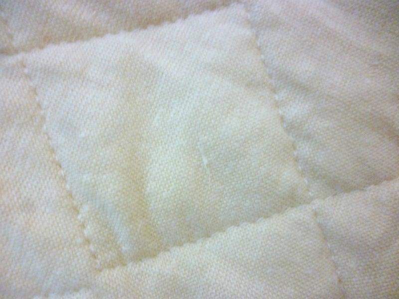 リネンニット枕パッド洗濯3