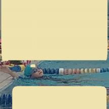 夏休み~☆水泳進級!