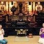 6月のお寺ヨガを開催…
