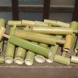 【夏休み】竹の水鉄砲…