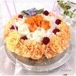 娘からのお花のケーキ