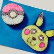 ☆飾り巻き寿司でポケ…