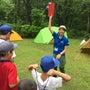妙高冒険キャンプ1日…