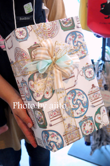 持ち込みラッピング出産祝いアジト抱っこ布団