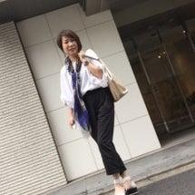 50代コーデ☆色使い…