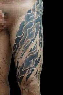見切り タトゥー TATTOO 刺青